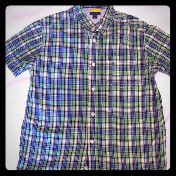 Tommy Hilfiger Other - Tommy Hilfiger Boys short sleeve button down shirt